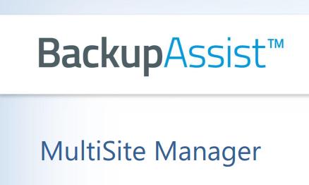 BackupAssisst Multisite Manager 10.1.0r1