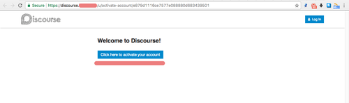 Welcome to discourse
