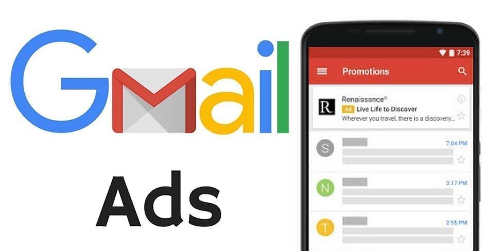 تبلیغات در ایمیل گوگل – Gmail Ads