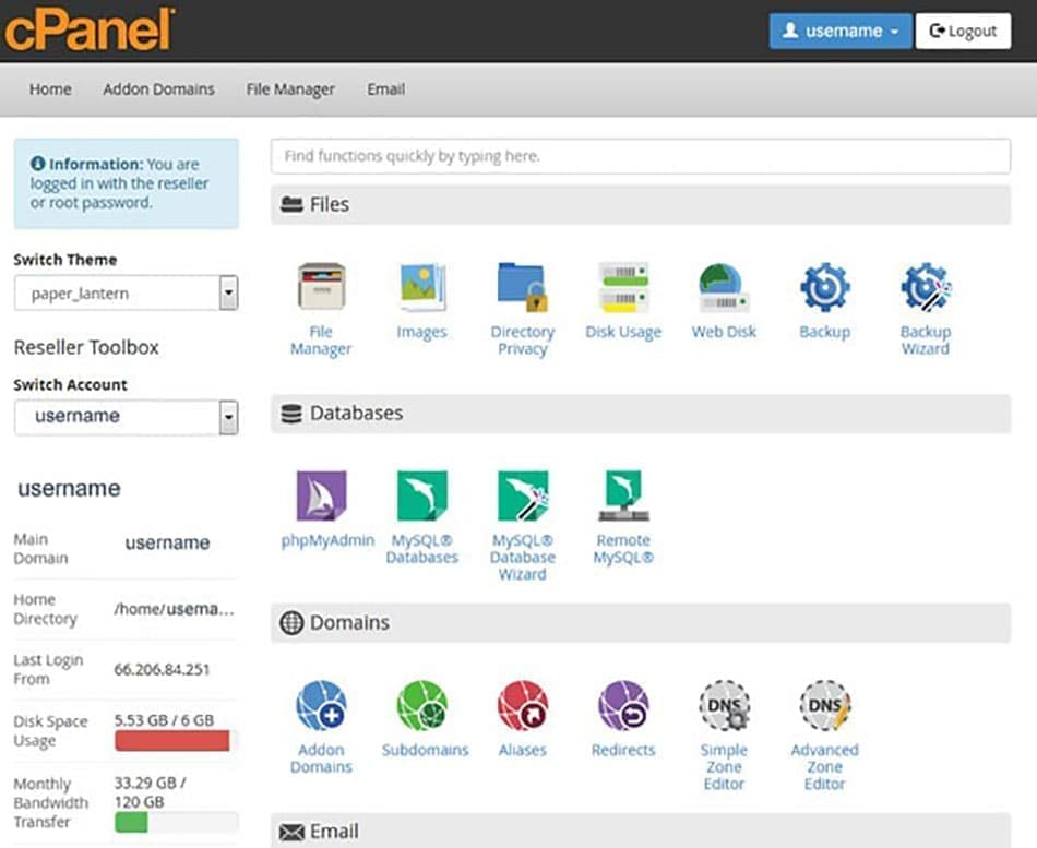 cPanel چیست؟
