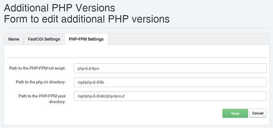 PHP 5.6 FPM