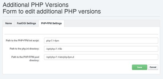 PHP 7.1 FPM