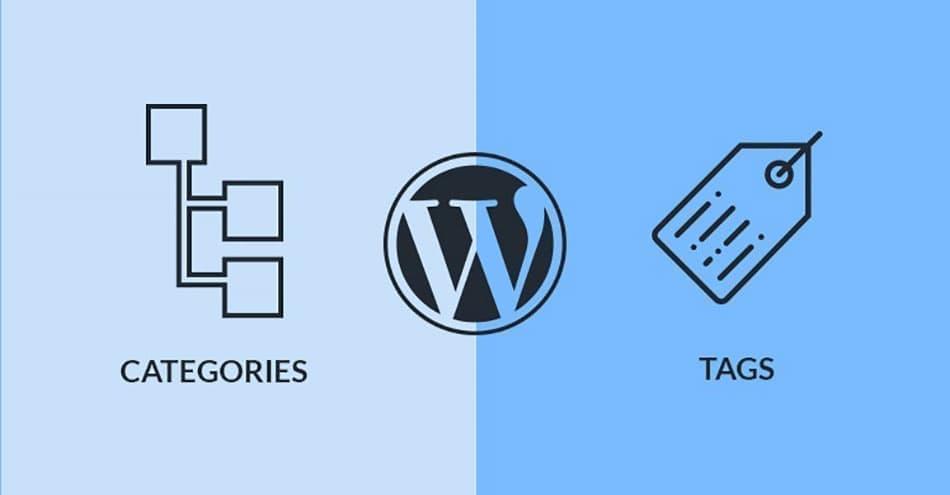 آموزش ویرایش دسته ها و برچسب ها در wordpress
