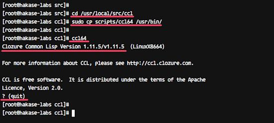 Install Common Lisp