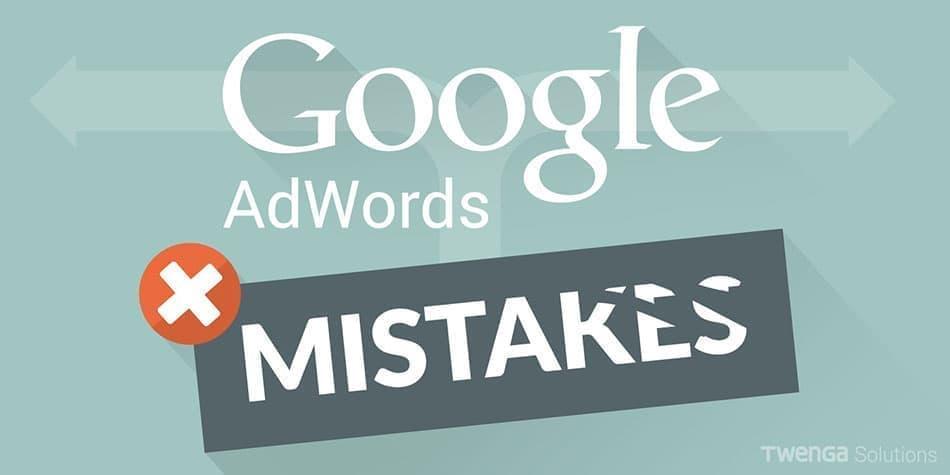 اشتباهات مرگبار در تبلیغ گوگل ادوردز