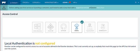 Configure Rancher access control