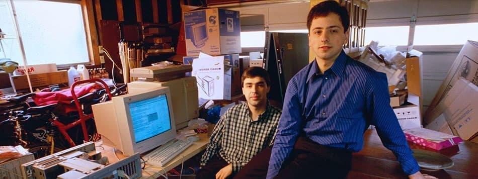 تاریخچه گوگل – از یک گاراژ تا گوگل پلکس