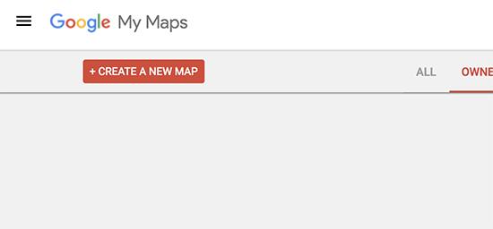 ایجاد نقشه در google my maps