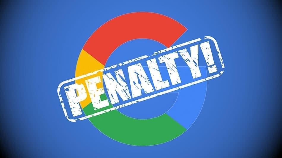 پنالتی شدن سایت توسط گوگل | تشخیص ، دلایل و رفع آن