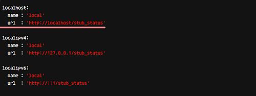 Configure netdata