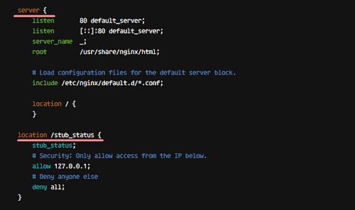 Configure nginx