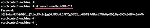 Define User and SSH Key