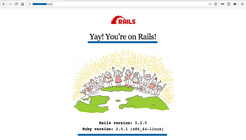Ruby on Rails App is working