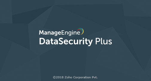 ManageEngine DataSecurity Plus 5.0