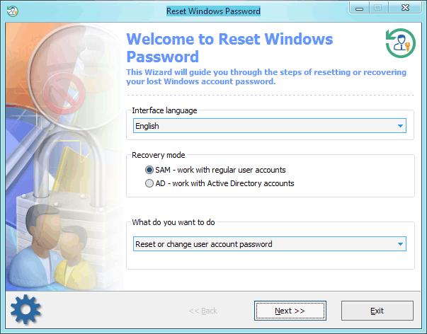 Passcape Reset Windows Password 7.0.5