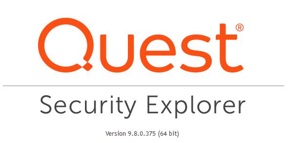 Quest Security Explorer 9.8