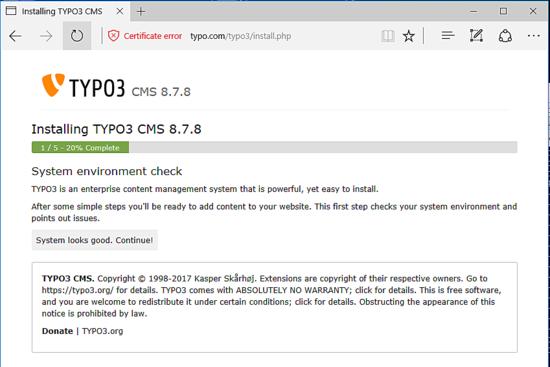 مدیریت کانفیگ سرور دامنه | How to Install Typo3 CMS on Debian 9
