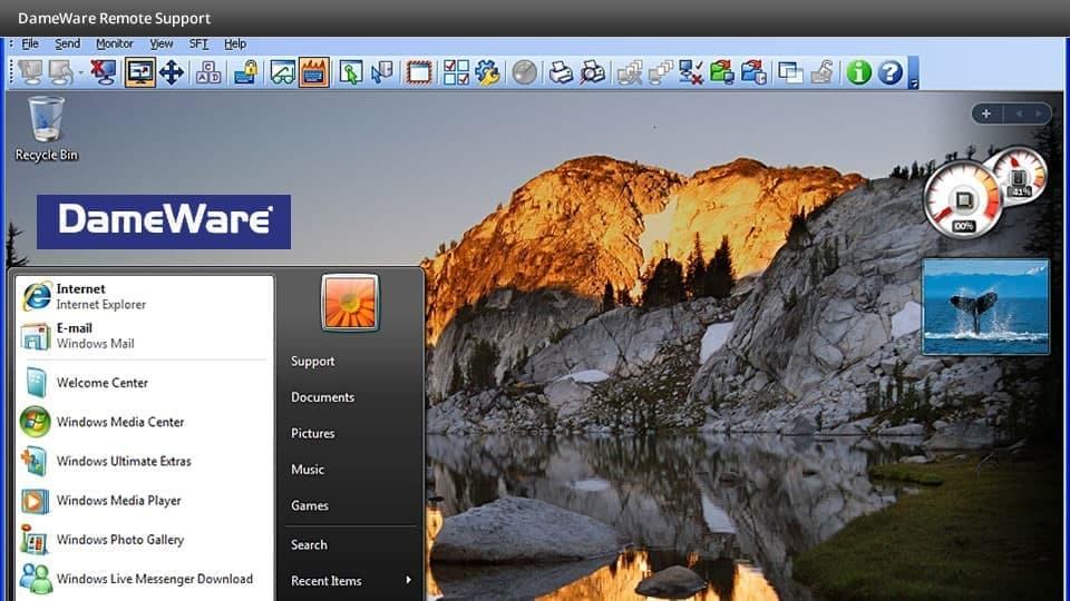 Dameware Remote Support 12.1.0.34