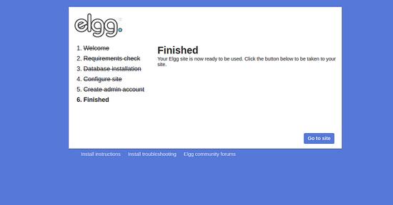 مدیریت کانفیگ سرور دامنه   How to Install Elgg Social Network on