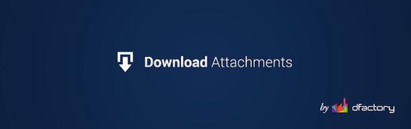 پلاگین Download Attachments