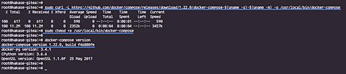 Install Docker Compose