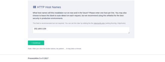 HTTP Host Name