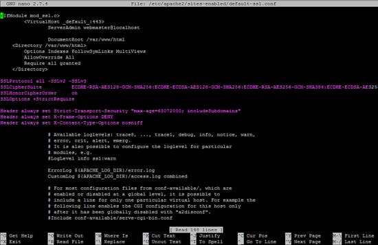 مدیریت کانفیگ سرور دامنه | نصب وردپرس 5 در دبیان 9
