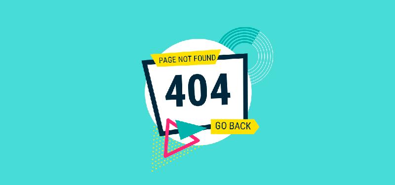 نمونه صفحه 404