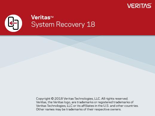 Veritas System Recovery 18.0 SP3