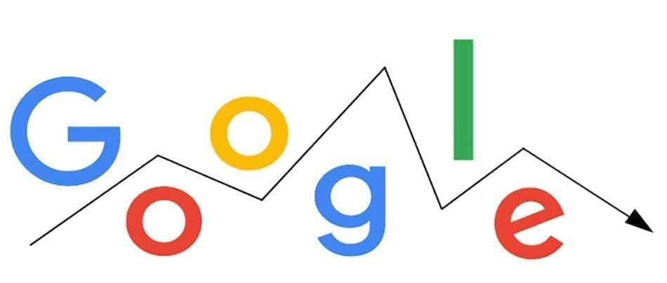 دلایل کاهش رتبه وب سایت در گوگل