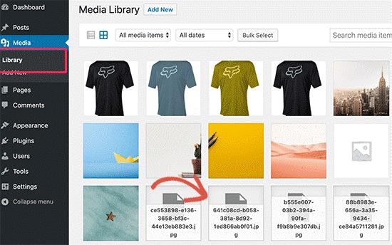 جایگزین کردن تصویر حذف شده در وردپرس