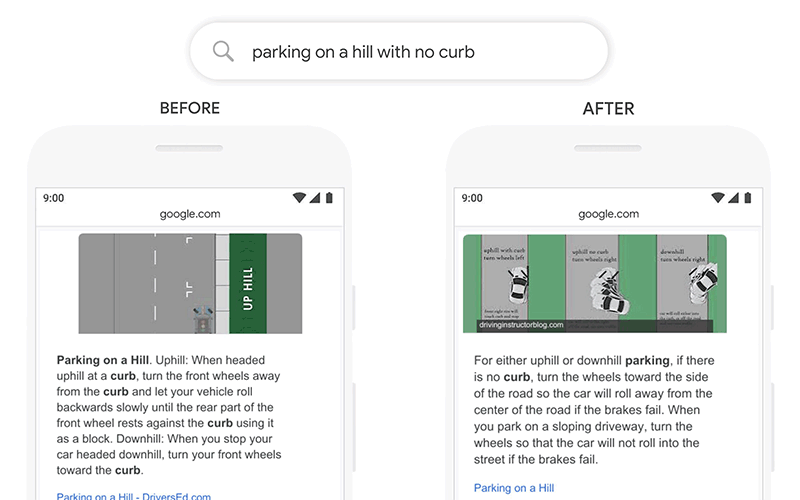تاثیر الگوریتم bert گوگل بر روی نتایج جستجو