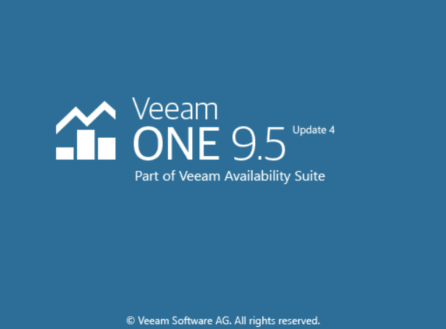 Veeam ONE 9.5.4 Update 4a