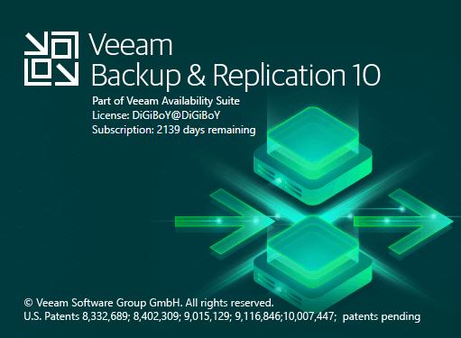 Veeam Backup & Replication 10 Cumulative Patch 1