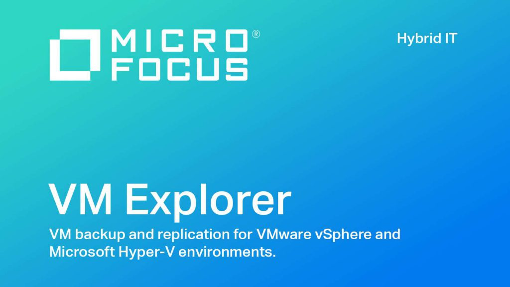 Micro Focus VM Explorer Enterprise v7.1.001