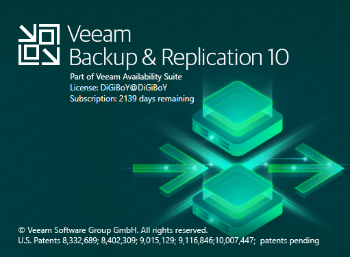 Veeam Backup Replication 10a