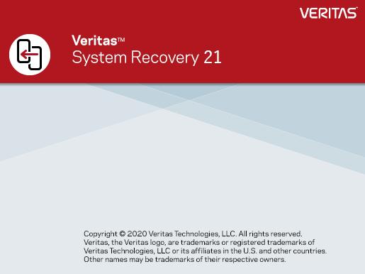 Veritas System Recovery 21.0.1