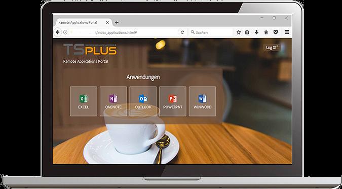TSplus مجازی سازی برنامه و دسکتاپ به صورت تحت وب