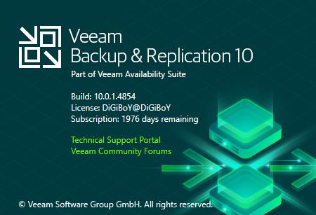 Veeam Backup Replication 10a KB4050